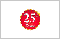 25th years celebration